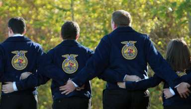 Farm Bureau Awards FFA Jackets to Local Students