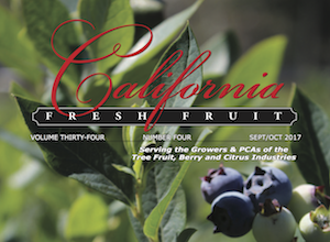 California Fresh Fruit Magazine September/October