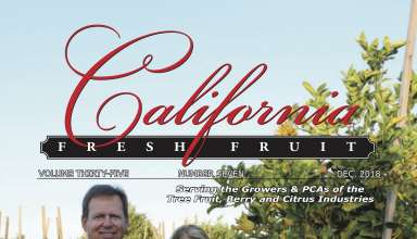 California Fresh Fruit Magazine December 2018 Issue