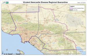 Regional Quarantine Map